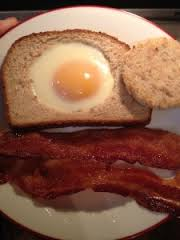 Lazy Bacon and Eggs