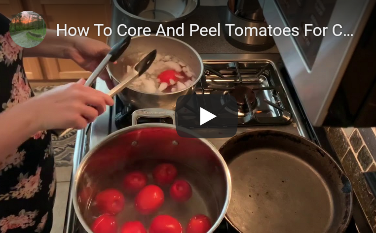 core and peel tomatoes video pic