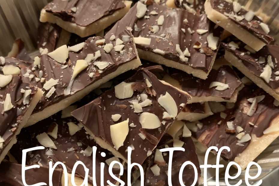 Easy English Toffee Candy