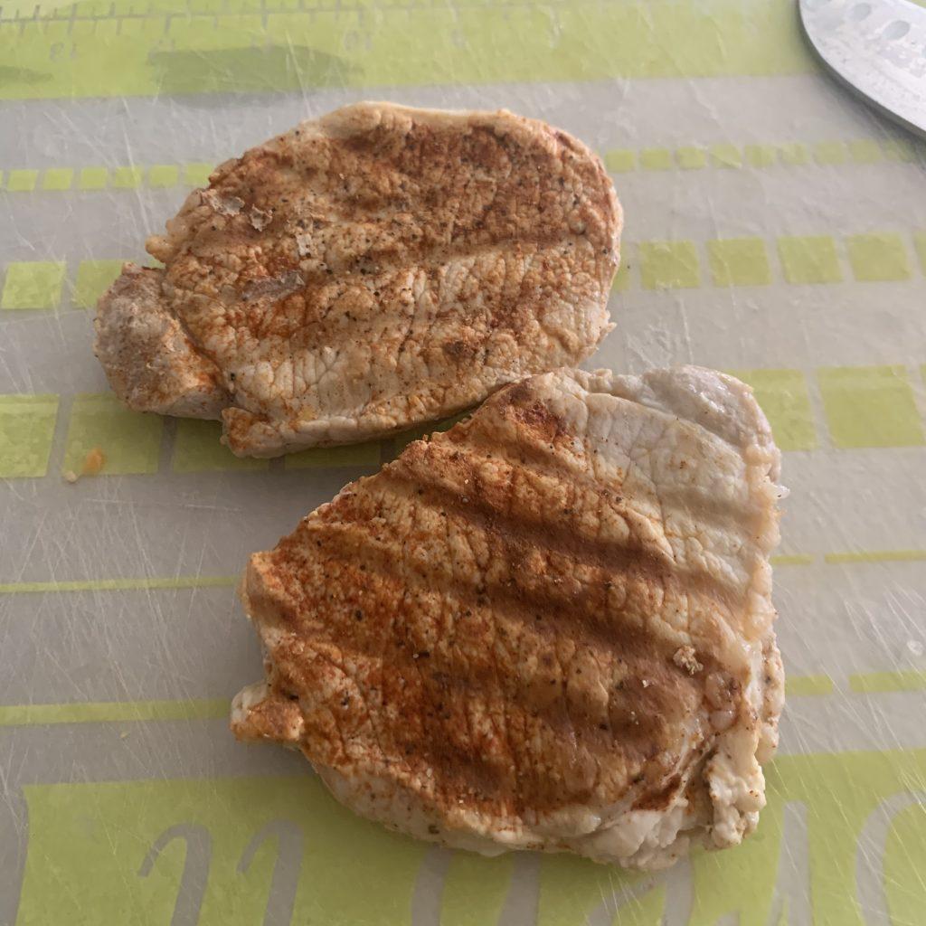 leftover pork chop for stir fry dish