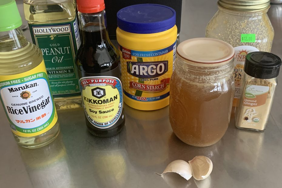 Easy stir fry sauce ingredients
